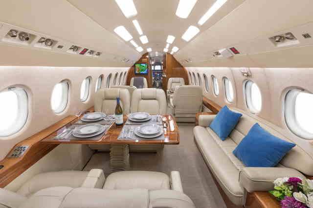бизнес джет Dassault Falcon 2000 в России