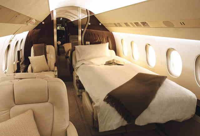 перелет самолетом Dassault Falcon 2000 DX