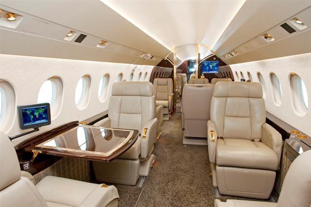 фото частного самолета Dassault Falcon 2000 DX