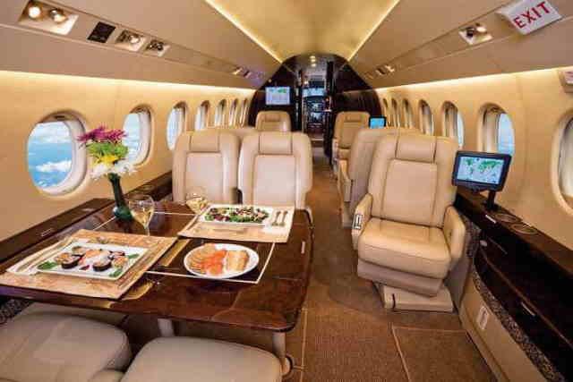 бизнес джет Dassault Falcon 2000 DX в России