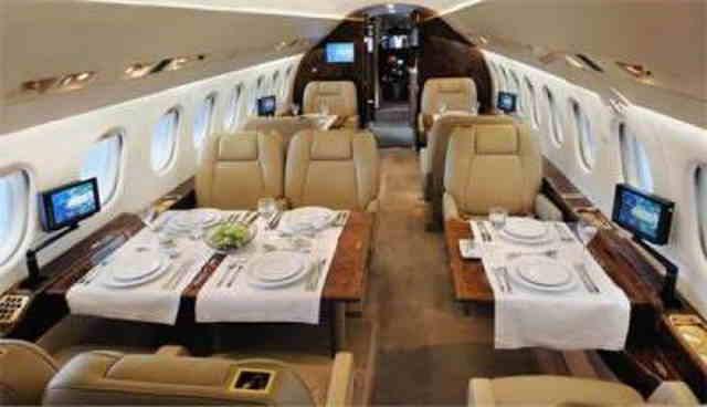 аренда самолета Dassault Falcon 2000 DX