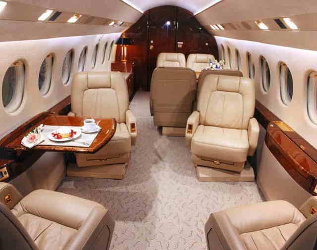 арендовать бизнес джет Dassault Falcon 2000 DX