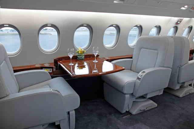 перелет самолетом Dassault Falcon 2000 EX