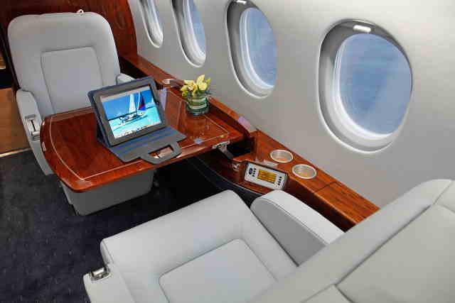 фото частного самолета Dassault Falcon 2000 EX