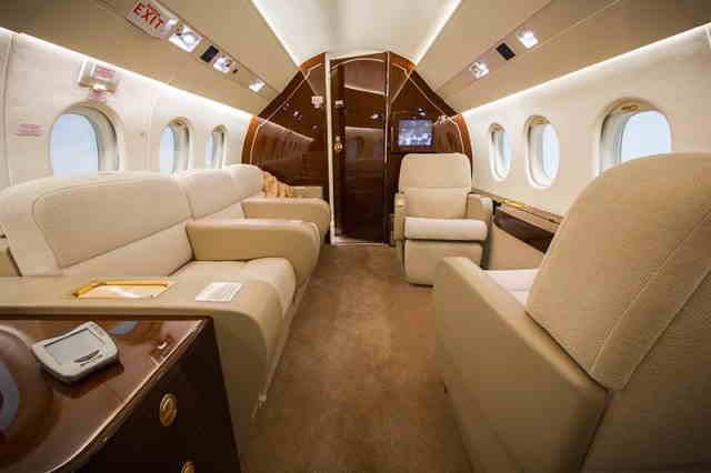 бизнес джет Dassault Falcon 2000 EX в России