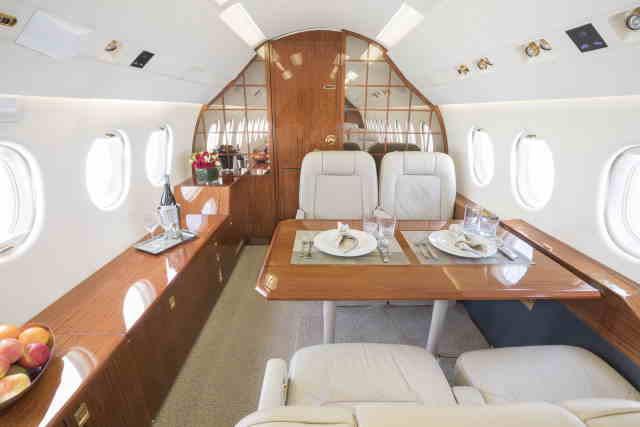 аренда самолета Dassault Falcon 2000 EX