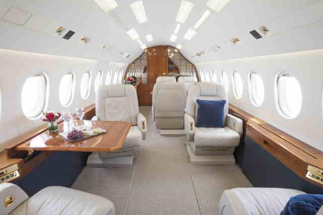 арендовать бизнес джет Dassault Falcon 2000 EX