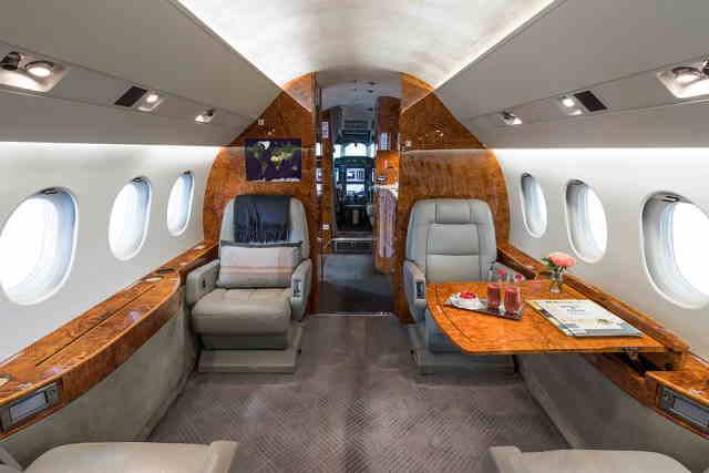 бизнес джет Dassault Falcon 2000 LX в России