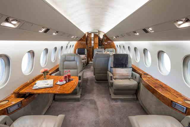 аренда самолета Dassault Falcon 2000 LX