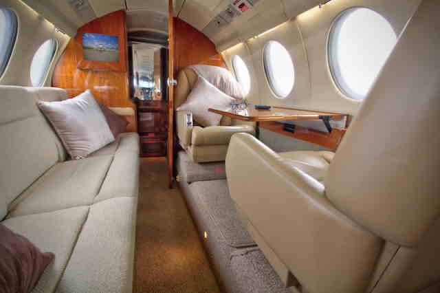 перелет самолетом Dassault Falcon 50
