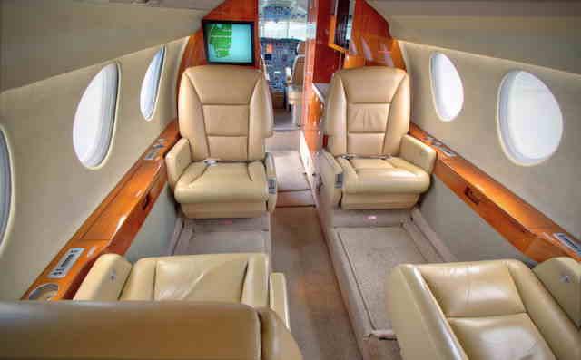 бизнес джет Dassault Falcon 50 в России