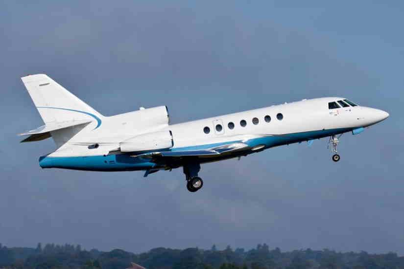 самолет Dassault Falcon 50 EX
