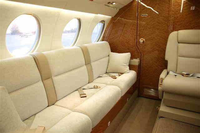фото частного самолета Dassault Falcon 50 EX