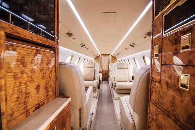 аренда самолета Dassault Falcon 50 EX