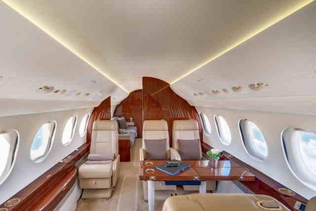 аренда самолета Dassault Falcon 7X