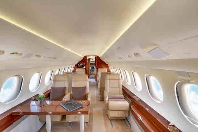 арендовать бизнес джет Dassault Falcon 7X