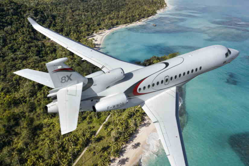 самолет Dassault Falcon 8X