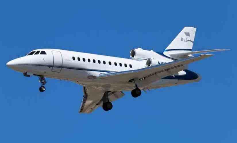 самолет Dassault Falcon 900