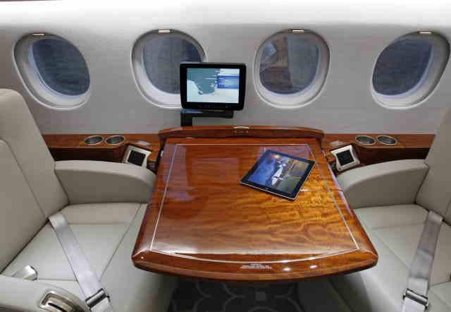 фото частного самолета Dassault Falcon 900
