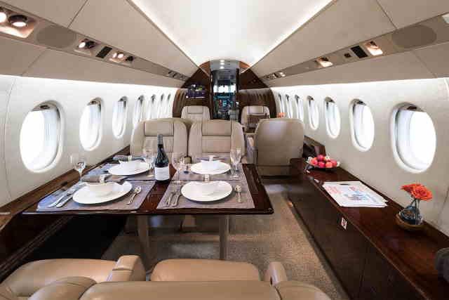 арендовать бизнес джет Dassault Falcon 900