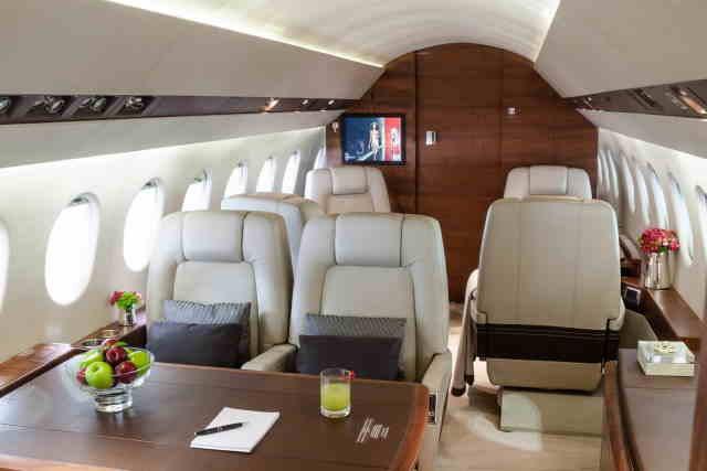 аренда самолета Dassault Falcon 900 DX