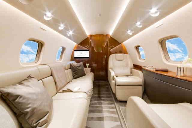 перелет самолетом Embraer Legacy 650