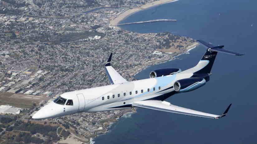 самолет Embraer Legacy 650