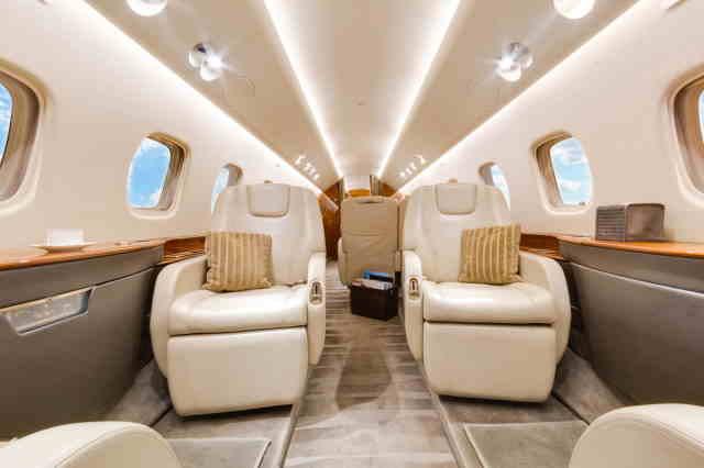 бизнес джет Embraer Legacy 650 в России