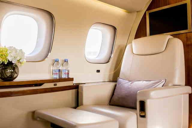 арендовать бизнес джет Embraer Lineage 1000