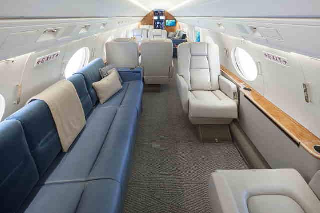 перелет самолетом Gulfstream G100