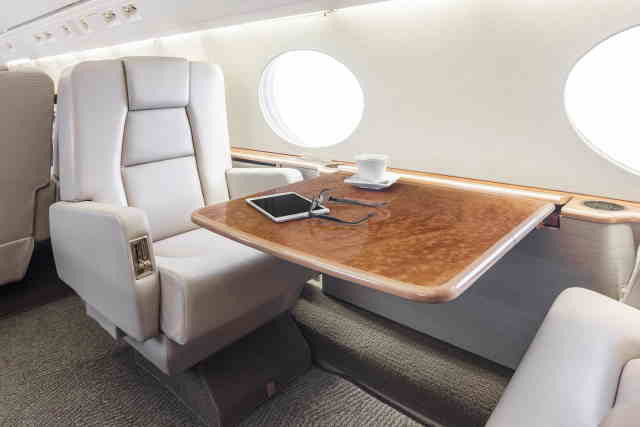 фото частного самолета Gulfstream G100