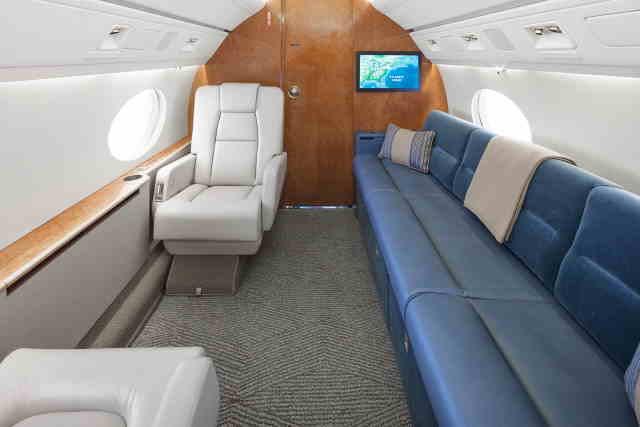 аренда самолета Gulfstream G100