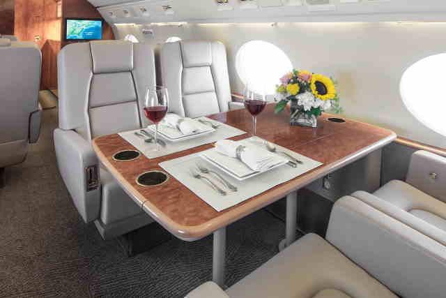 арендовать бизнес джет Gulfstream G100