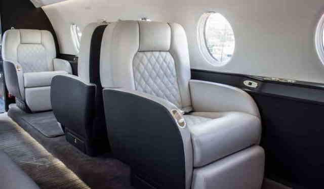 перелет самолетом Gulfstream G200