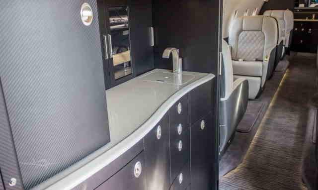 арендовать бизнес джет Gulfstream G200