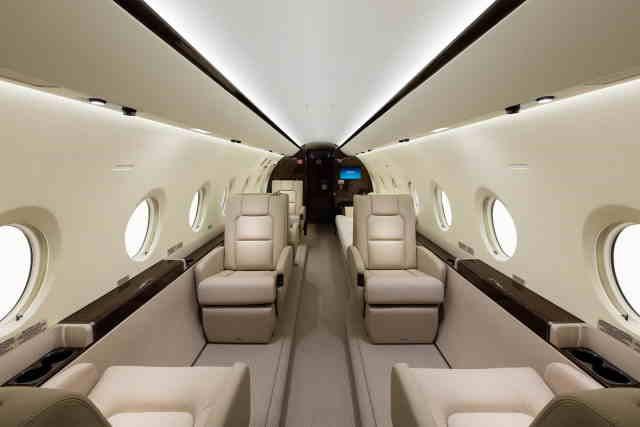 перелет самолетом Gulfstream G280