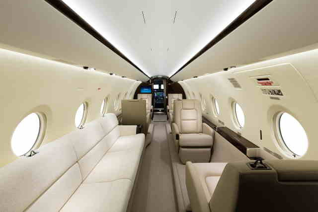 фото частного самолета Gulfstream G280