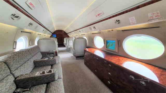 фото частного самолета Gulfstream G300