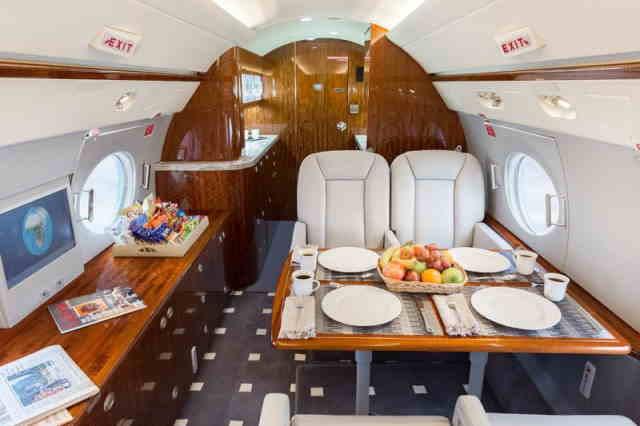 перелет самолетом Gulfstream G350