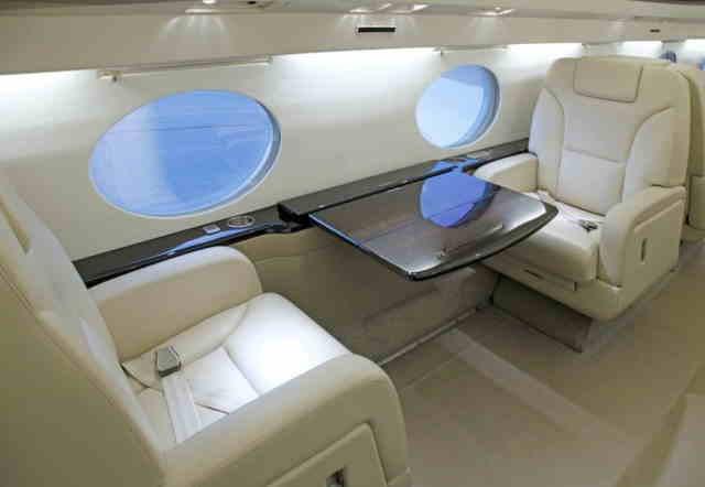 фото частного самолета Gulfstream G350