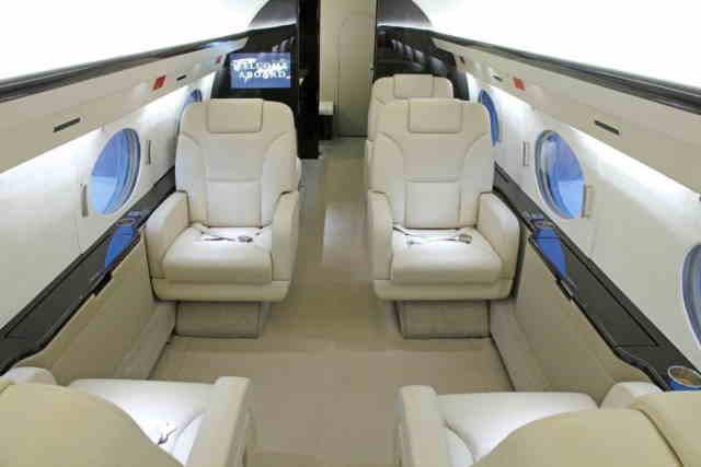 бизнес джет Gulfstream G350 в России
