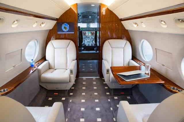аренда самолета Gulfstream G350