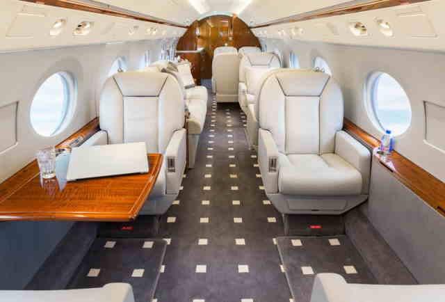 арендовать бизнес джет Gulfstream G350