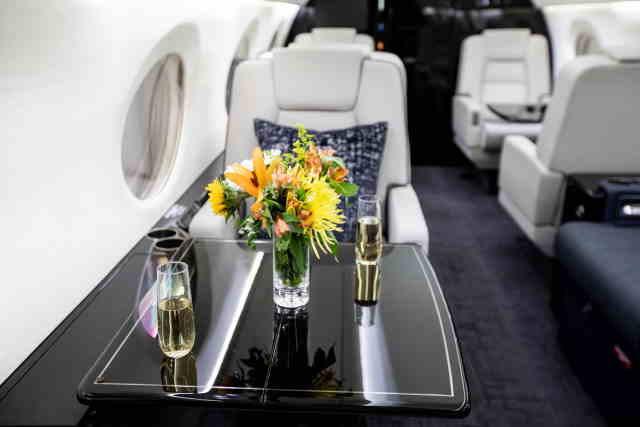 перелет самолетом Gulfstream G400