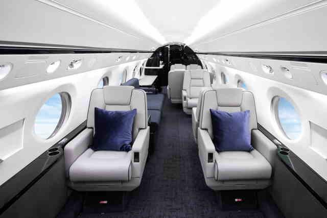 фото частного самолета Gulfstream G400