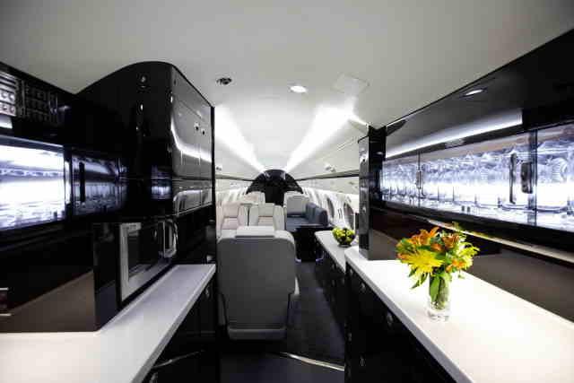 бизнес джет Gulfstream G400 в России