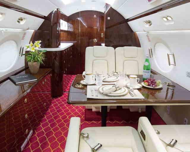 перелет самолетом Gulfstream G450