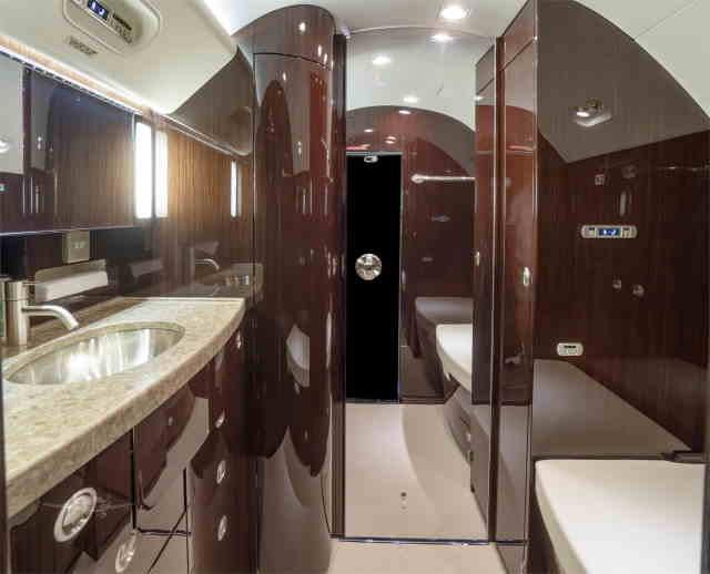 бизнес джет Gulfstream G450 в России