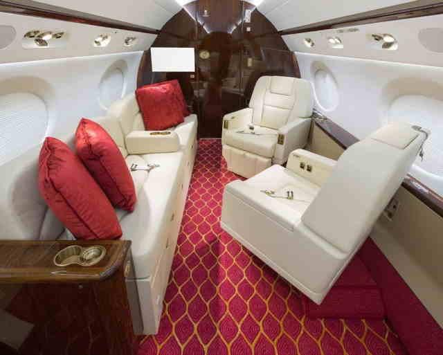 арендовать бизнес джет Gulfstream G450