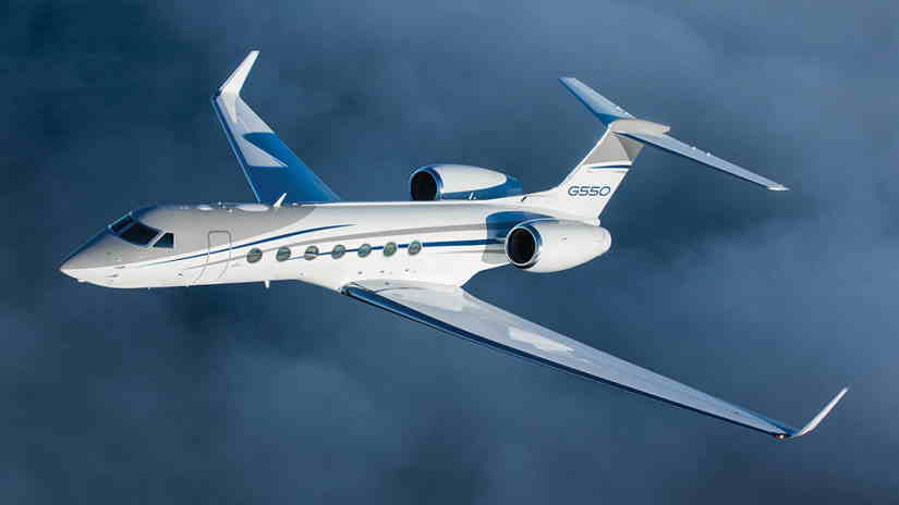 самолет Gulfstream G550